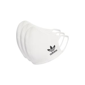 adidas Face Covers M/L 3-pack biele HB7850