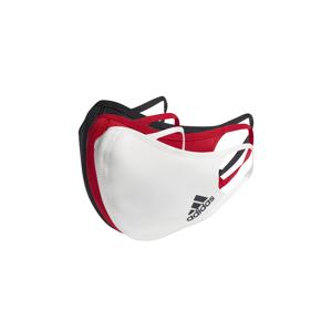 adidas Face Covers M/L 3-pack červené HB7852 - vyskúšajte osobne v obchode