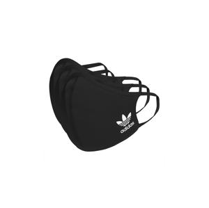 adidas Face Covers M/L 3-pack čierne HB7851 - vyskúšajte osobne v obchode