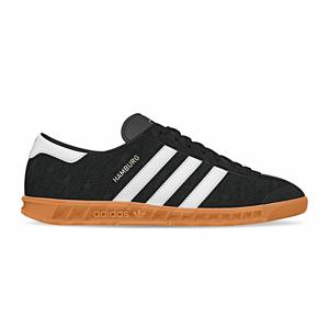 adidas Hamburg čierne S76696 - vyskúšajte osobne v obchode