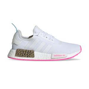 adidas Nmd_R1 Junior Ftwr White/Ftwr White/Screaming Pink biele FX5016 - vyskúšajte osobne v obchode