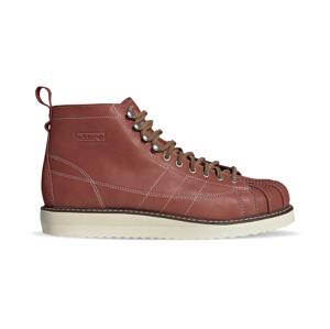 adidas Superstar Boot Wild Sepia/Off White/Brown hnedé FZ2642 - vyskúšajte osobne v obchode