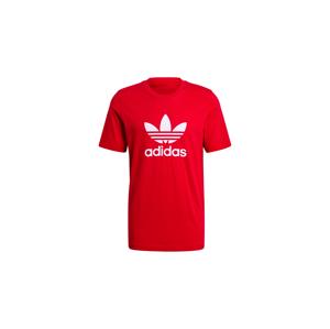 adidas Trefoil Tee Scarlet/White červené GN3468 - vyskúšajte osobne v obchode