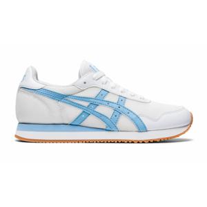 Asics Tiger Runner White/Blue Bliss biele 1192A160-102 - vyskúšajte osobne v obchode
