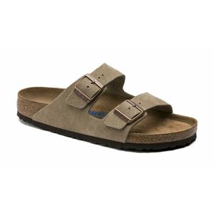 Birkenstock Arizona Arizona Soft Footbed Suede Leather Taupe Narrow-3.5 svetlohnedé 951303-3.5