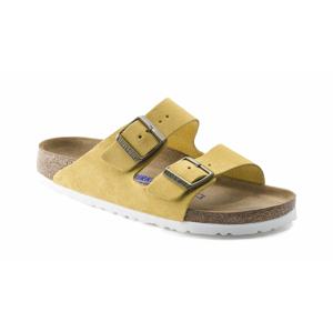 Birkenstock Arizona Soft Footbed Suede Leather Ochre Narrow žlté 1015890 - vyskúšajte osobne v obchode
