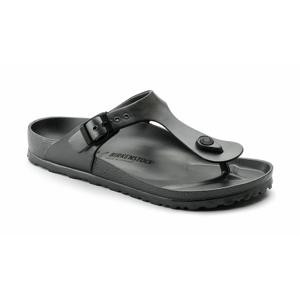 Birkenstock Gizeh EVA Beach Metallic Anthracite Regular Fit čierne 1001505 - vyskúšajte osobne v obchode