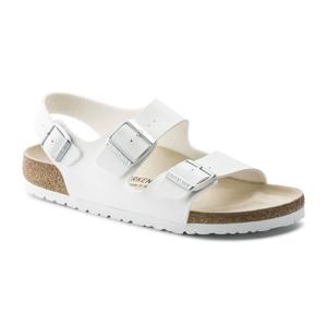Birkenstock Milano BS White Narrow biele 34733 - vyskúšajte osobne v obchode