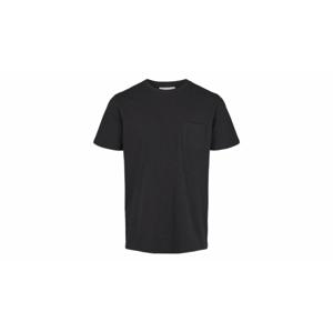 By Garment Makers Organic Tee Pocket-M modré GM131001-1204-M