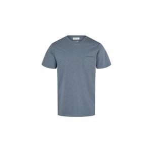 By Garment Makers Organic Tee Pocket-M modré GM131001-2342-M