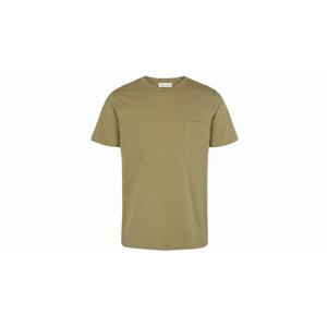 By Garment Makers Organic Tee Pocket zelené GM131001-2908
