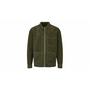 By Garment Makers The Organic Corduroy Jacket-M zelené GM131503-2888-M