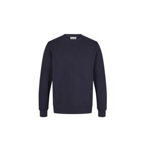 By Garment Makers The Organic Sweatshirt modré GM991101-3096 - vyskúšajte osobne v obchode