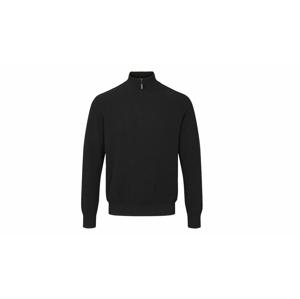 By Garment Makers Theo Half Zip-M modré GM131204-3176-M