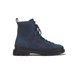 Camper Brutus Blue Nubuck Boots modré K400325-018