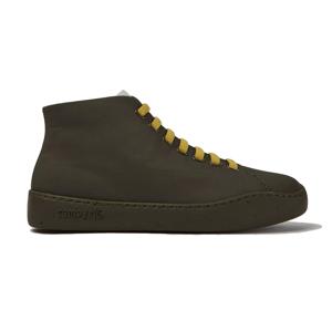 Camper Peu Touring Textile Green Boots 4 čierne K400374-010-4