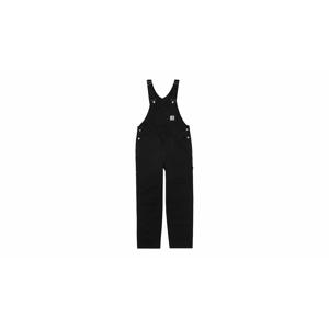 Carhartt WIP Bib overall Black čierne I026462_89_02 - vyskúšajte osobne v obchode