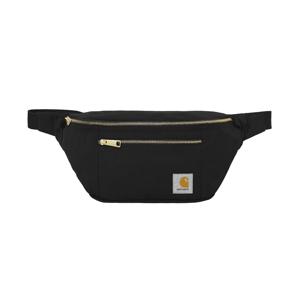 Carhartt WIP Canvas Hip Bag Black čierne I028728_89_90 - vyskúšajte osobne v obchode