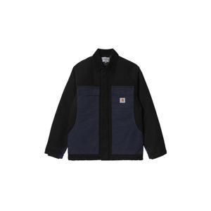 Carhartt WIP OG Arctic Coat Black / Dark Navy Aged Canvas XL modré I029769_0IE_3K-1-XL