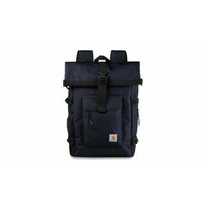 Carhartt WIP Philis Backpack Dark Navy modré I026177_1C_00 - vyskúšajte osobne v obchode