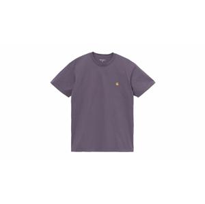 Carhartt WIP S/S Chase T-Shirt Provence / Gold fialové I026391_0AF_90 - vyskúšajte osobne v obchode