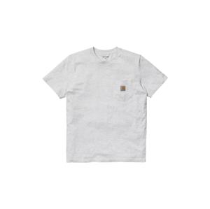 Carhartt WIP S/S Pocket T-Shirt Ash Grey  šedé I022091_482_00