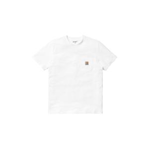 Carhartt WIP S/S Pocket T-Shirt White-L biele I022091_02_XX-L