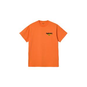 Carhartt WIP S/S Runner T-Shirt Hokkaido oranžové I029934_0AN_00 - vyskúšajte osobne v obchode