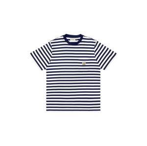 Carhartt WIP S/S Scotty Pocket T-Shirt Navy modré I029000_1C_90 - vyskúšajte osobne v obchode