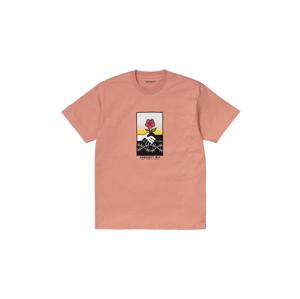 Carhartt WIP S/S Together T-Shirt Melba ružové I029016_0AI_00 - vyskúšajte osobne v obchode