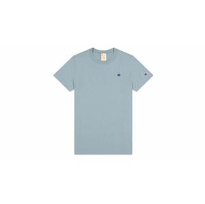 Champion crewneck C logo T-shirt modré 113360_F20_BS032 - vyskúšajte osobne v obchode