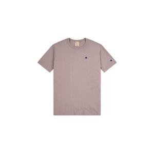 Champion crewneck C logo T-shirt ružové 113360_F20_PS007 - vyskúšajte osobne v obchode