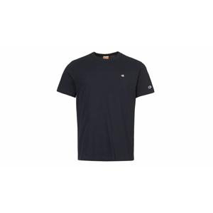 Champion Crewneck T-Shirt modré 212974-BS501-NNY - vyskúšajte osobne v obchode