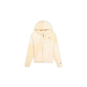Champion Patchwork Velour Fleece ZIP-UP Hoodie biele 113506-F20-YS094 - vyskúšajte osobne v obchode