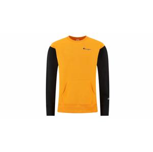 Champion Premium Crewneck Sweatshirt žlté 214284_S20_OS030 - vyskúšajte osobne v obchode