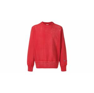 Champion Reverse Weave Crewneck Sweatshirt červené 211680-RS033 - vyskúšajte osobne v obchode