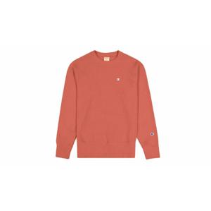 Champion Reverse Weave Sweatshirt oranžové 215215_F20_OS037 - vyskúšajte osobne v obchode