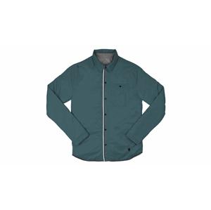 Chrome Industries Reversible Warm Work Shirt modré AP-191-INWR - vyskúšajte osobne v obchode