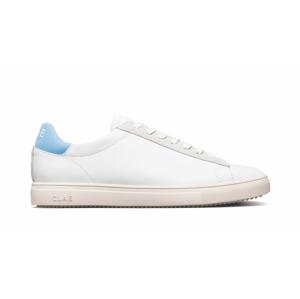 Clae Bradley White Milled Leather Blue biele CLA20ABR03-WMB - vyskúšajte osobne v obchode