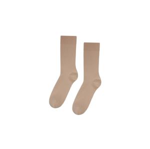 Colorful Standard  Classic Organic Socks svetlohnedé CS6001-DK - vyskúšajte osobne v obchode