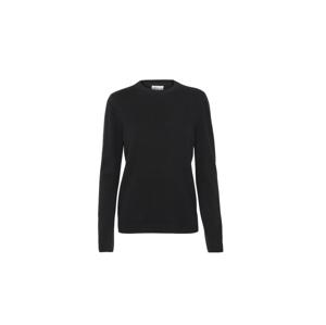 Colorful Standard Women Light Merino Wool Crew čierne CS5084-DB - vyskúšajte osobne v obchode