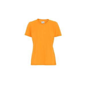 Colorful Standard Women Light Organic tee oranžové CS2051-SO - vyskúšajte osobne v obchode