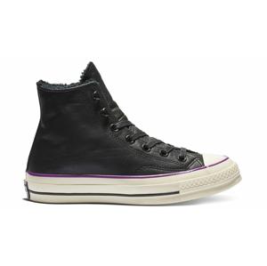 Converse Chuck 70 Street Warmer Leather High Top čierne 162433C - vyskúšajte osobne v obchode