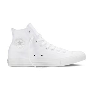 Converse Chuck Taylor All Star White Monochrome Hi-10UK biele 1U646-10UK