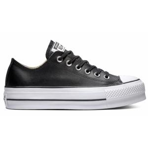 Converse Chuck Taylor All Star Lift Clean Leather Low Top čierne 561681C - vyskúšajte osobne v obchode