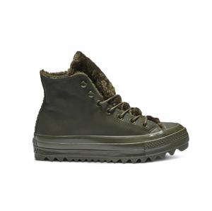 Converse Chuck Taylor All Star Lift Ripple Hi Leather-3.5 zelené 562425C-3.5