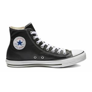 Converse Chuck Taylor Hi Leather Black čierne 132170C - vyskúšajte osobne v obchode