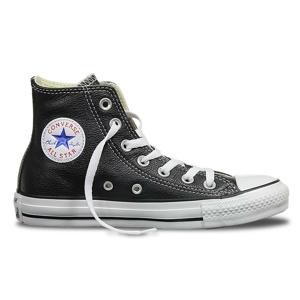 Converse Chuck Taylor Hi Leather čierne 132170C - vyskúšajte osobne v obchode