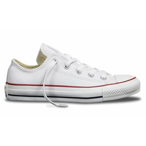 Converse Chuck Taylor Leather biele 132173C - vyskúšajte osobne v obchode