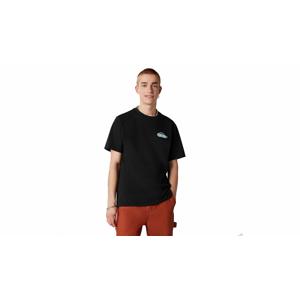 Converse Classic Script Short Sleeve Tee  čierne 10021516-A01 - vyskúšajte osobne v obchode